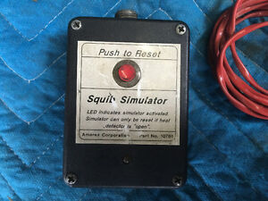 Fire suppression reset switches