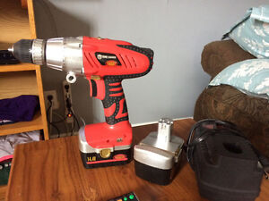 King Canada Performance Plus Cordless Drill