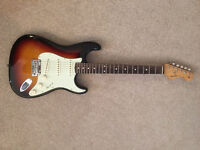 Classic Player 60's Fender Stratocaster with upgrades