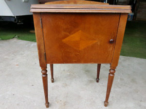 Vintage sewing table/machine without the works
