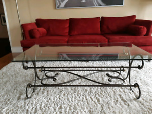 Beautiful Bombay Glass Tables