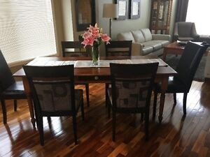 Solid Wood Dining Table - now $ 500