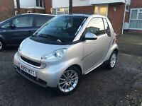 Smart Fortwo 1.0 Passion 2008 Convertible, 47,000 Miles, FULL Service History, Automatic, HPI Clear