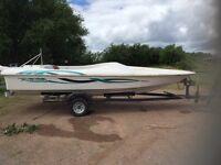 Fletcher ski/race sports boat.