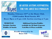 Quarter Auction Supporting The VON Adult Day Program