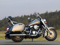 Great bike for two up riding or touring.