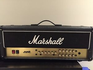 MARSHALL JVM205H 50 WATT HEAD GUITAR AMP REDUCED
