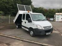 Iveco Daily Double Cab Tipper Drop side 2.3Hpi