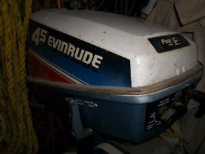 moteur hors bord evinrude 4.5 hp