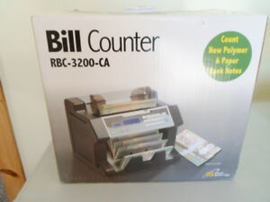 New RBC-3200-CA Bill Counter