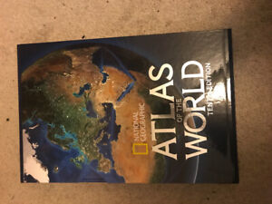 National Geographic atlas of the world tenth edition (newest)