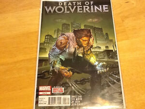 MARVEL COMICS - DEATH OF WOLVERINE - COMPLETE SET OF FOUR London Ontario image 2