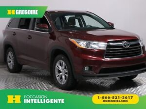 2015 Toyota Highlander LE AWD V6 8 PASSAGERS