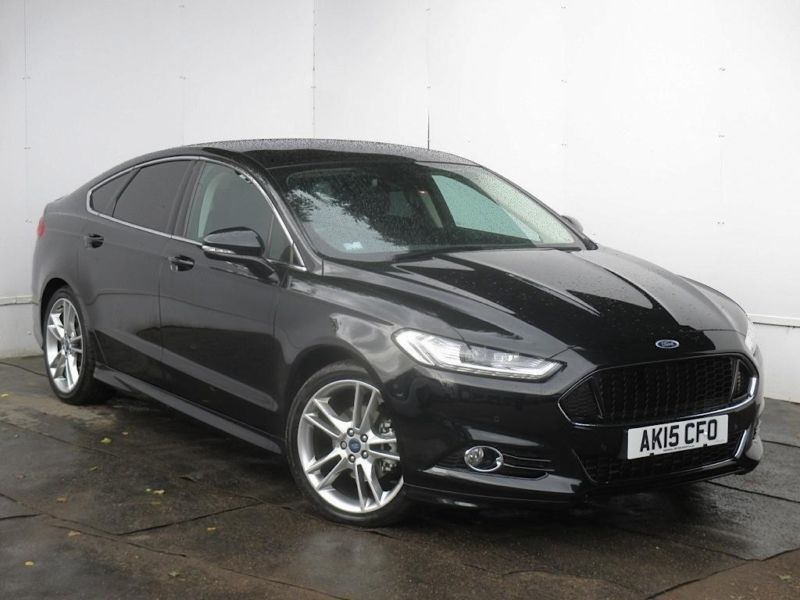 2015 ford mondeo mondeo 2 0 tdci 180 titanium x sport 5dr diesel black manual in cambridge. Black Bedroom Furniture Sets. Home Design Ideas