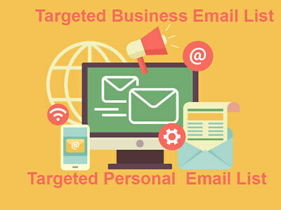 New 23 Million Uk Usa 100 000 Email Database List For Business Marketing