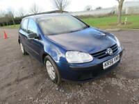 2006 VOLKSWAGEN GOLF 1.4 S MANUAL PETROL 5 DOOR HATCHBACK