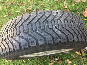 SEt winter tires and rims