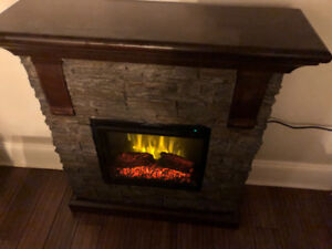 Canvas Gatineau Electric Fireplace $300 Gently Used