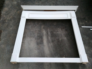 NEW WOOD FIREPLACE MANTLE - NEVER USED