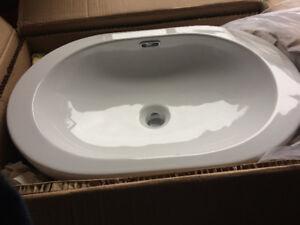 Oval Vessel Sink