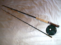 Ligne a Mouche BERKLEY Moulinet Fly Fishing Rod and Reel