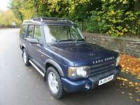 2004 '54' LAND ROVER DISCOVERY 2.5 TD5 LANDMARK 7 SEATER IN MET BLUE 159,000