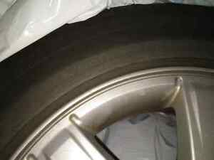 Cadillac CTS 2003-2007 OEM rims + all season tires Kitchener / Waterloo Kitchener Area image 7