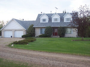 Acreage (10 acres) with beautiful home and large shop