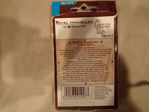 Samsonite Luggae Tags - set of 2 - NEW Sarnia Sarnia Area image 2