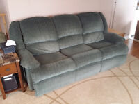 Recliner Sofa & Loveseat Free to a Good Home