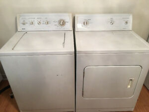 Kenmore heavy duty white washer electric dryer set 280 4 both