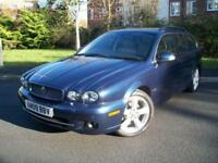 JAGUAR X-TYPE 2.2 SE DIESEL AUTO ESTATE, HUGE SPECIFICATION, JUST 32,000 MILES