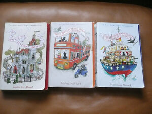 Mysterious Benedict Society Book Trilogy for kids-T.L. Stuart Kitchener / Waterloo Kitchener Area image 1