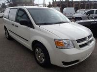 2010 Dodge Caravan C/V Minivan (With Divider & Shelving)