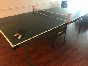 Official-Size Ping Pong Table