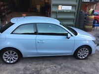 Audi A1 for sale, manual, 1.4 tfsi sport, rare blue and white colour! 1 carful lady owner from new!