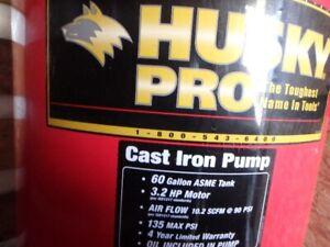 60 gal.husky pro air compressor