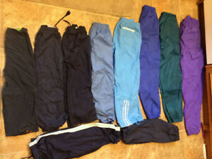 KIDS Splash pant, rubber boots, rain jackets/parka/snowsuit 4-16