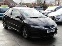 Honda Civic 1.4 I-VTEC Type S I-SHIFT 3 Door Manual Petrol 2011