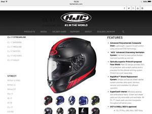 Motorcycle Helmet. HJC CL-17 Streamline size L
