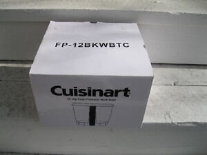 Cuisinart 12 C Food Processor Work Bowl