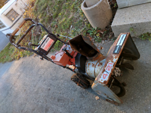 Old Snow Blower for parts