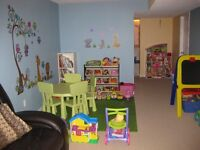 Orleans Home Daycare, 1 full-time spot available.