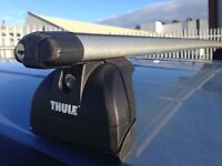 One Thule 861 roof bar 120+ cm