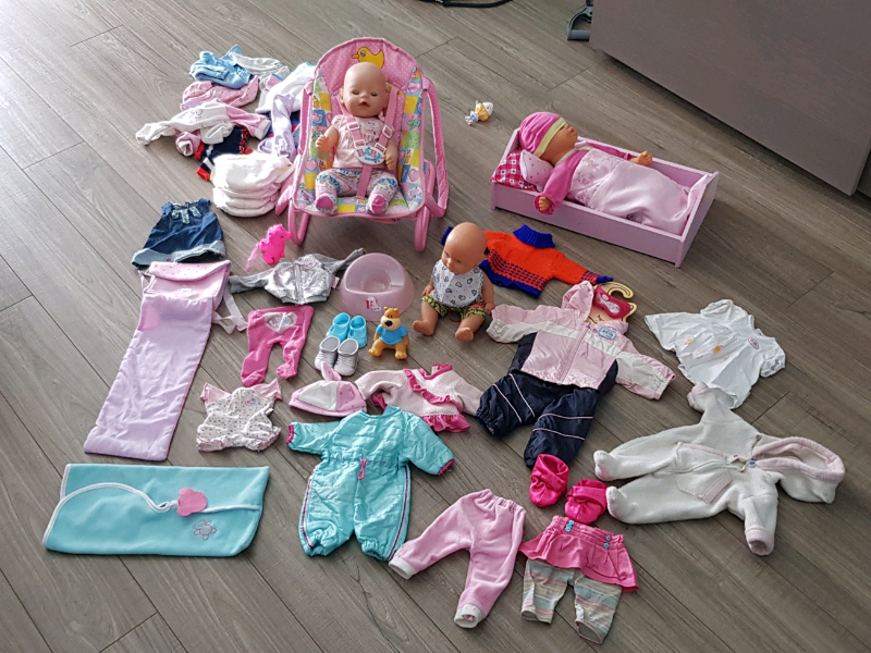 Baby Born Doll and Clothes Set | Toys & Games | Calgary ...
