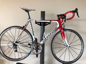 Cannondale Roadbike Ultegra  + Fulcrum Zero Wheels