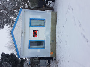 Mobile home and lot for sale