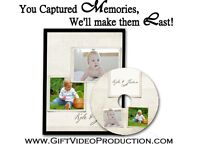 Baby's First Year  DVD - edited from your home videos