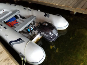 2015 HIGHFIELD DINGHY WITH TOHATSU 20 hp 4STROKE