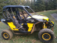 13 CAN-AM MAVERICK XRS 1000R FIRST $7500 FIRM TAKES HER!
